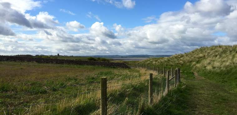 holy island walks