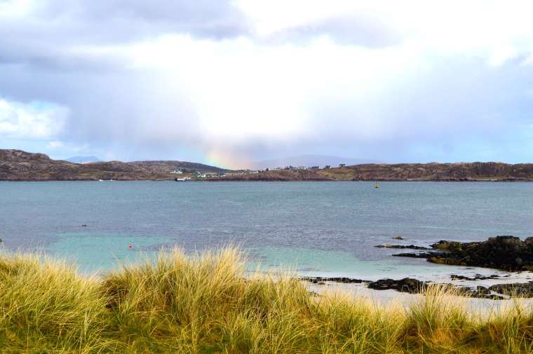 more rainbows - iona & mull
