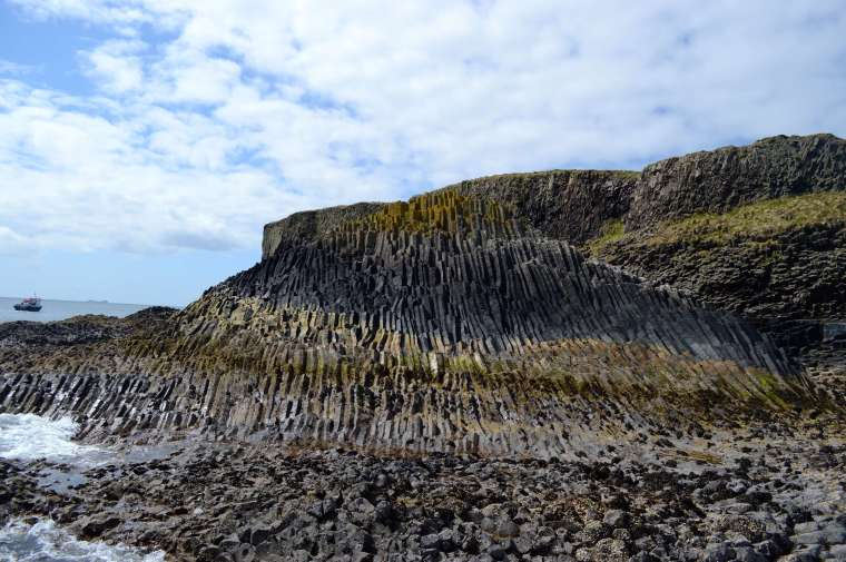 Rock formations staffa
