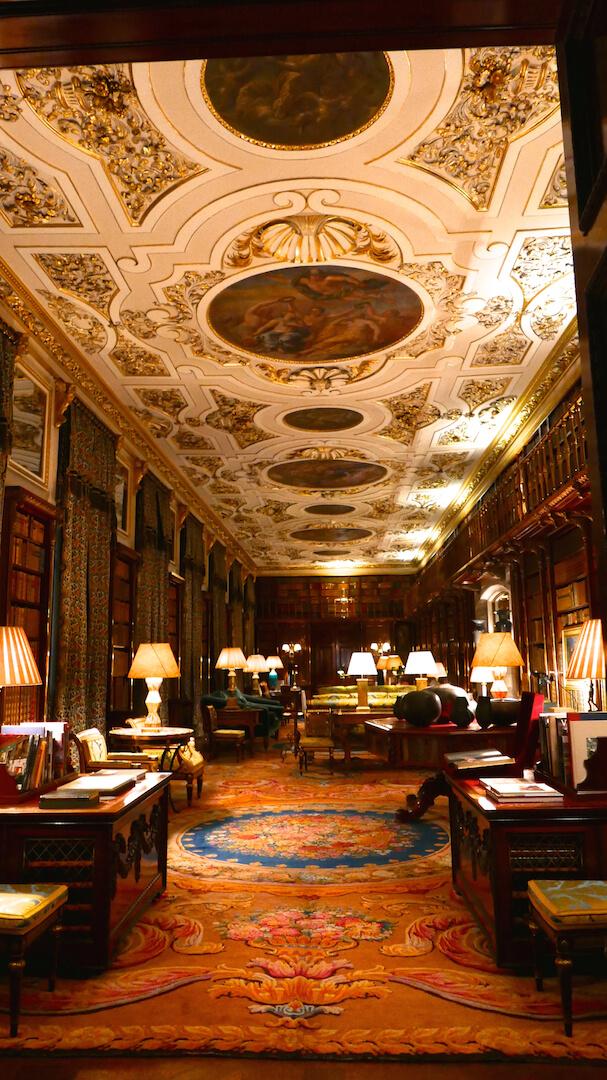 chatsworth-interiors-library