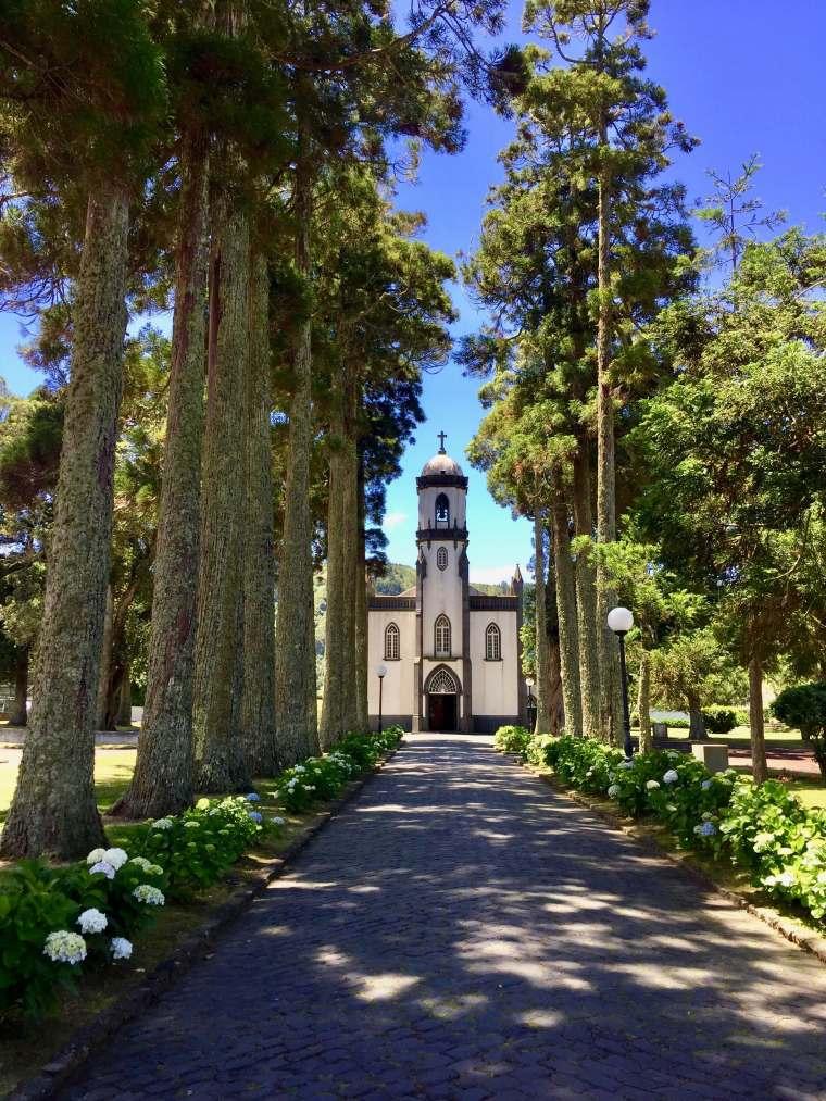 sete cidades church