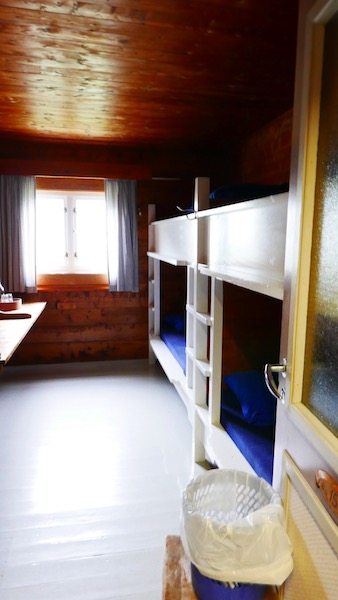 the bunk beds in skogdalsbøen look like they are unchanged since the hut was built